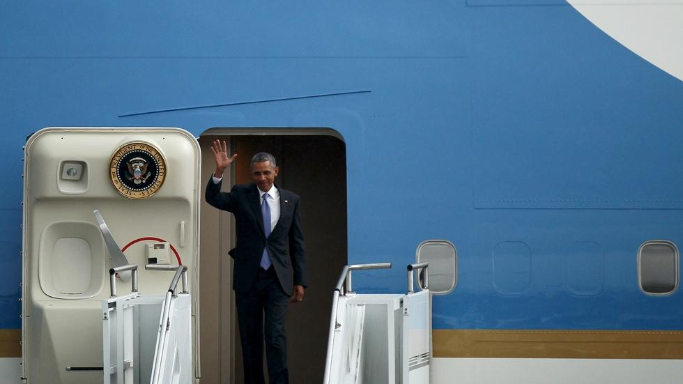 Obama opens first-ever visit to Ethiopia by U.S. president image