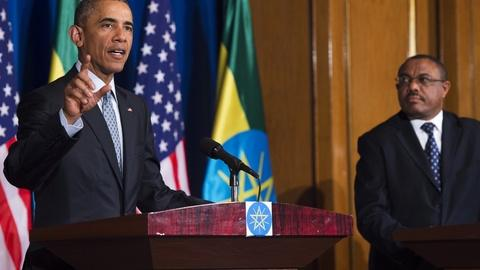PBS NewsHour -- Does Obama's Africa visit come too late?