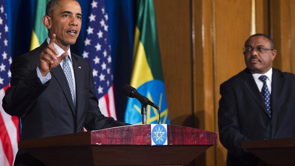 Does Obama's Africa visit come too late? image