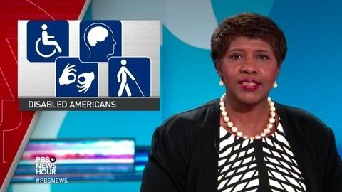 PBS NewsHour -- News Wrap: CDC finds 1 in 5 adults in U.S. has a disability