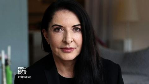 PBS NewsHour -- Marina Abramovic: Performance art can change your life