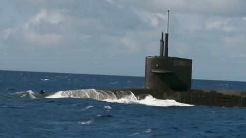 PBS NewsHour -- Top Navy commander: U.S. uses nuclear subs to deter foes