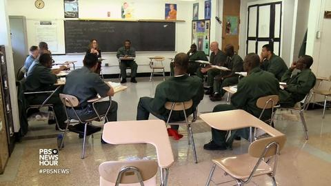PBS NewsHour -- Can higher ed keep inmates from returning to prison?