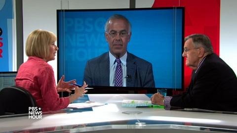 PBS NewsHour -- Shields and Brooks on police body cameras