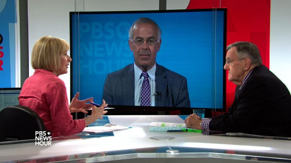 Shields and Brooks on police body cameras image