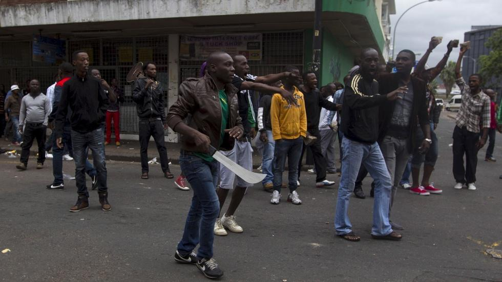Living in fear after attacks on migrants in South Africa image