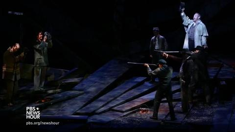 PBS NewsHour -- Civil War tragedy 'Cold Mountain' inspires opera