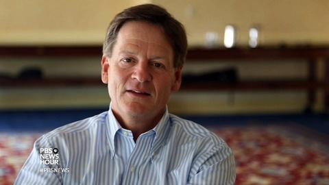 PBS NewsHour -- Author Michael Lewis on what execs and elites often overlook