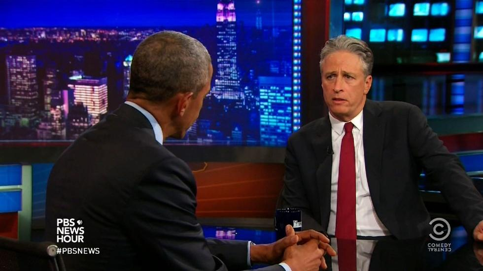 How funny man Jon Stewart became a serious influence image