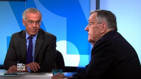 PBS NewsHour -- Shields and Brooks on GOP debate standouts