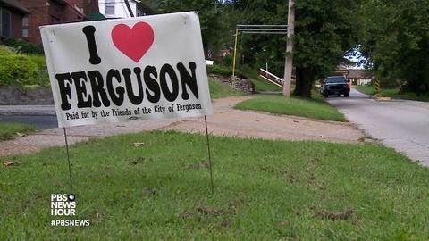 PBS NewsHour -- Ferguson takes steps toward change