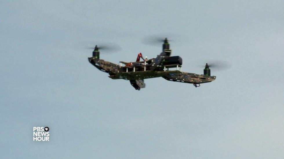 Not Trending: Using drones for search and rescue image