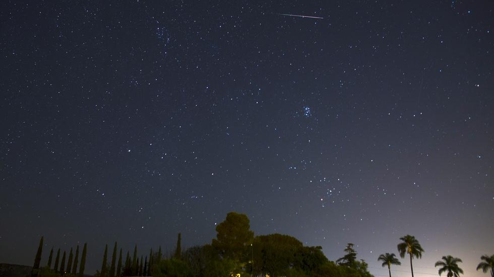 Perseid meteor shower offers a spectacular show image