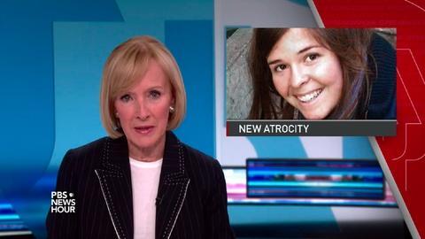 PBS NewsHour -- News Wrap: Islamic State leader raped hostage Kayla Mueller