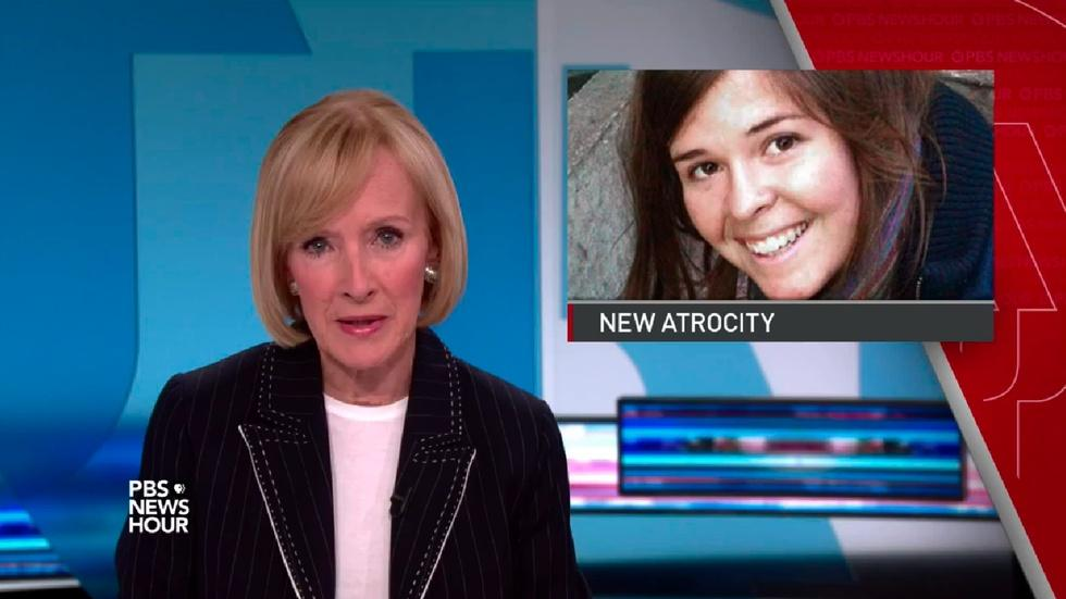 News Wrap: Islamic State leader raped hostage Kayla Mueller image