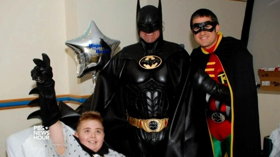 Remembering an ordinary superhero in the lives of sick kids image