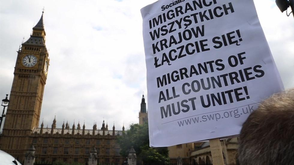 Why Polish migrants decided to strike in the UK image