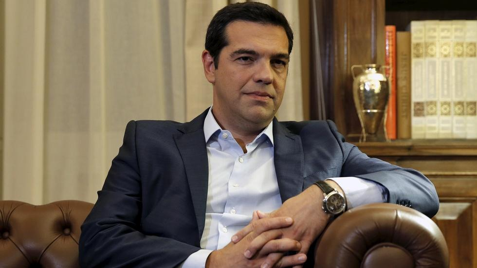 Will Greek PM's party come back stronger in snap elections? image