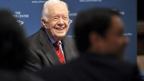 PBS NewsHour -- Jimmy Carter: 'I'll be prepared for anything that comes'