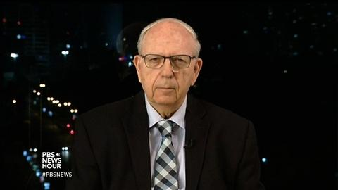 PBS NewsHour -- Why this former Mossad chief supports the Iran nuclear deal