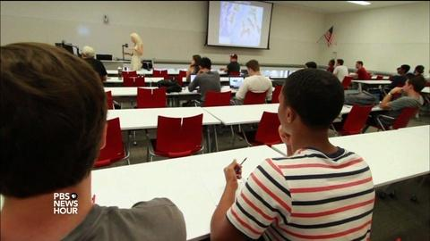 PBS NewsHour -- ASU opens its doors to more low-income students