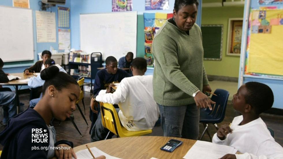 George W. Bush honors New Orleans educators image