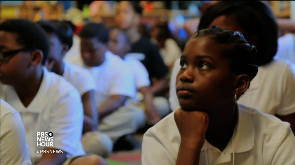 Have charter schools left out some New Orleans students? image