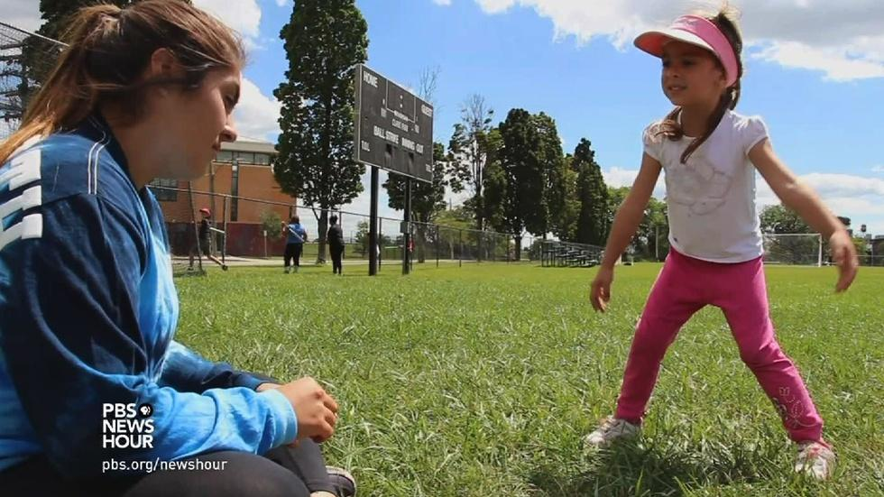 Young and old learn from each other in Detroit's green space image