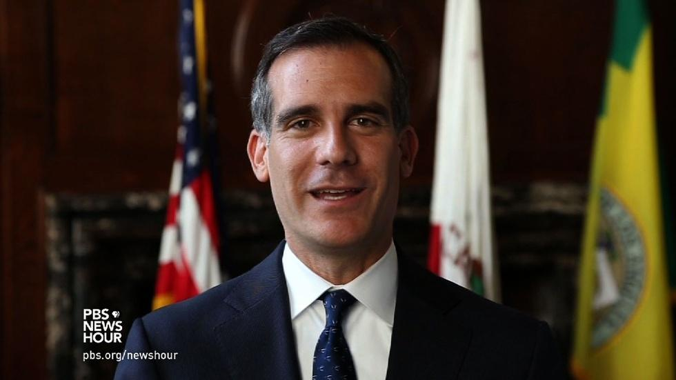 LA mayor says 'drought shaming' is our civic duty image