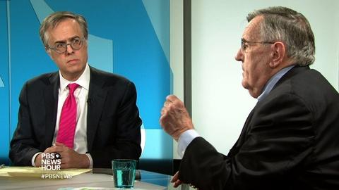 PBS NewsHour -- Shields and Gerson on refugee crisis responsibility