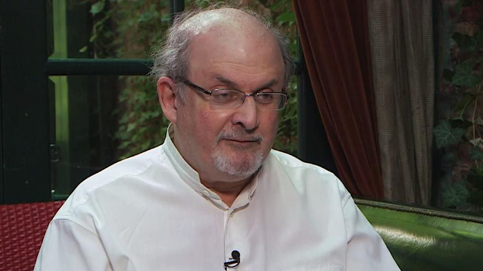 Salman Rushdie on the nature of fiction image