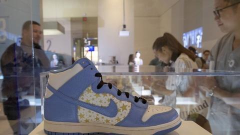PBS NewsHour -- Museum exhibit celebrates America's sneaker culture
