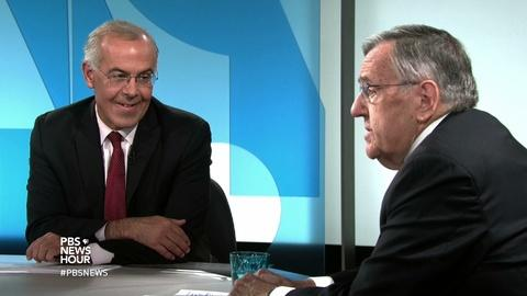 PBS NewsHour -- Shields and Brooks on U.S. reaching out to refugees