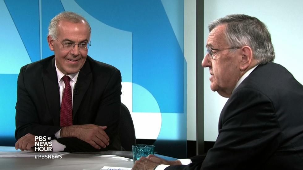Shields and Brooks on U.S. reaching out to refugees image