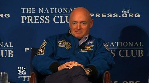 PBS NewsHour -- What NASA's twin tests will teach us about life in space