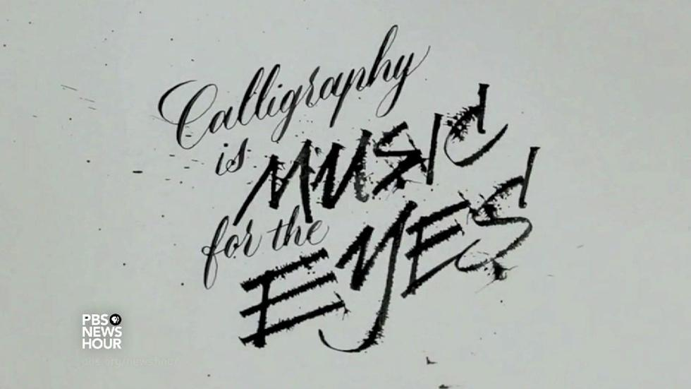 Why the ancient art of calligraphy still enchants image