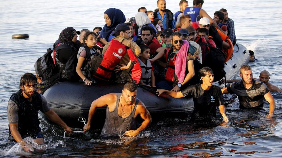 Elated to reach Greece, migrants face obstacles ahead image