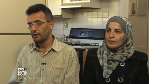 PBS NewsHour -- One Syrian refugee family's experience in the U.S.