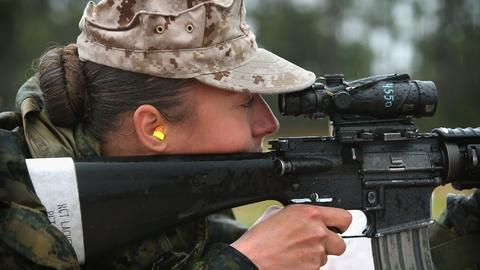 PBS NewsHour -- Marines shouldn't bar women from combat, says Navy secretary