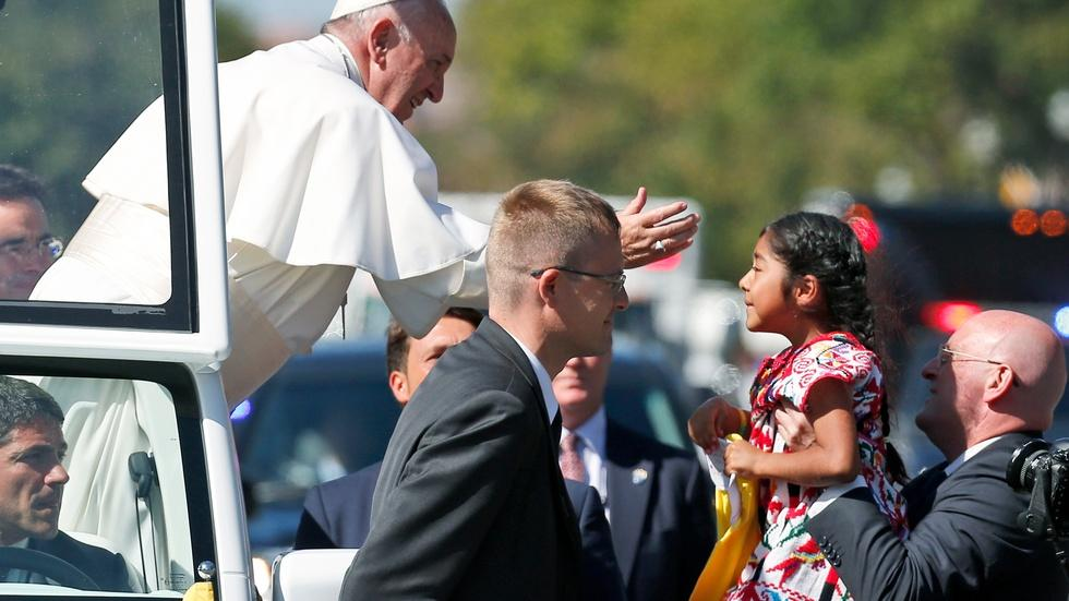 Will the pope's visit bring a political miracle of unity? image