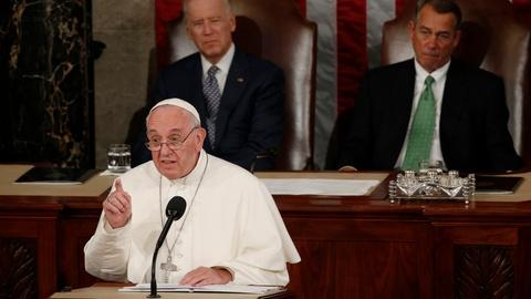 PBS NewsHour -- How Pope Francis' bipartisan call resonated in Congress