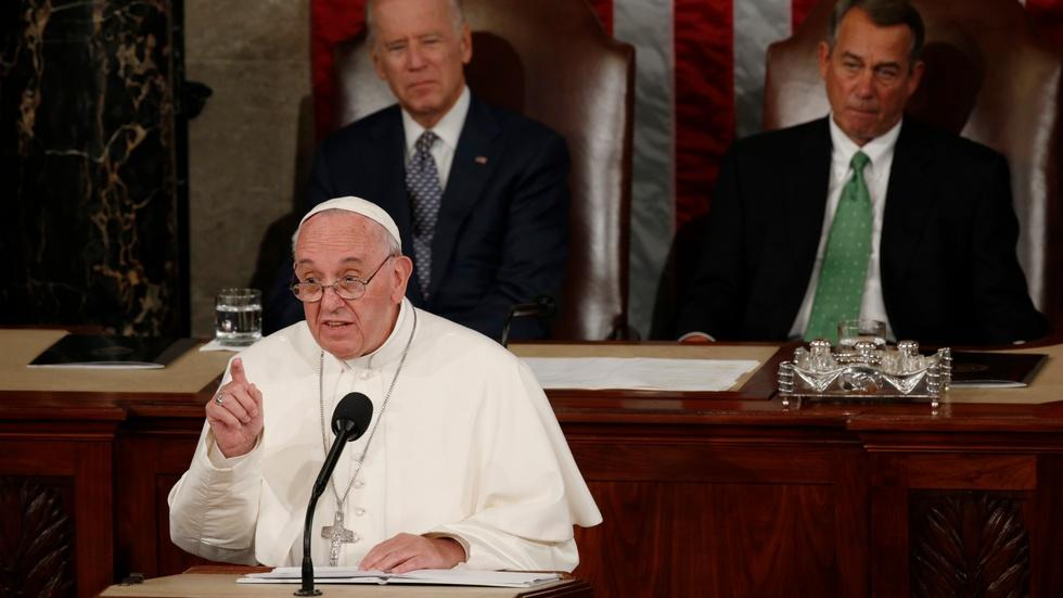 How Pope Francis' bipartisan call resonated in Congress image