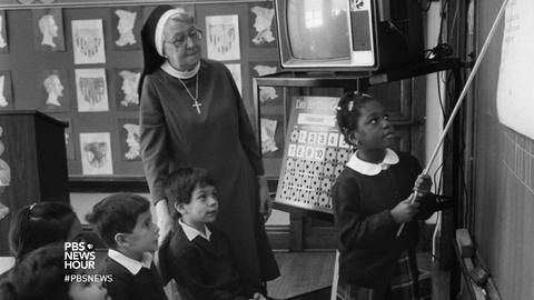 PBS NewsHour -- How Catholic schools must adapt to keep doors open