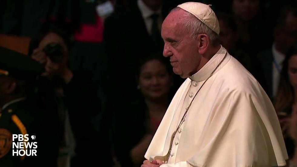 Watch Pope Francis' full address to the UN General Assembly image