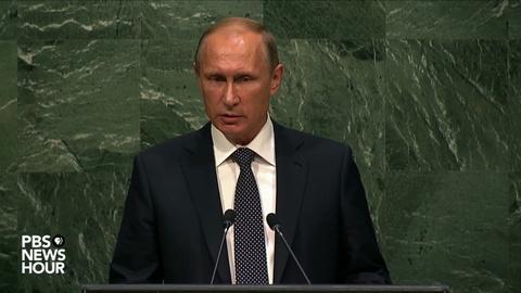 PBS NewsHour -- Russian President Putin's full address to United Nations