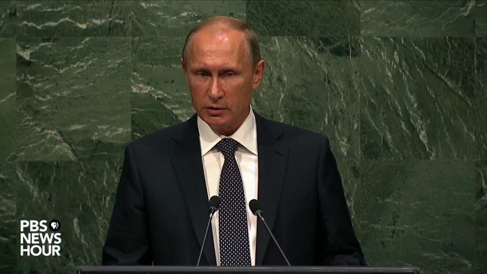 Russian President Putin's full address to United Nations image