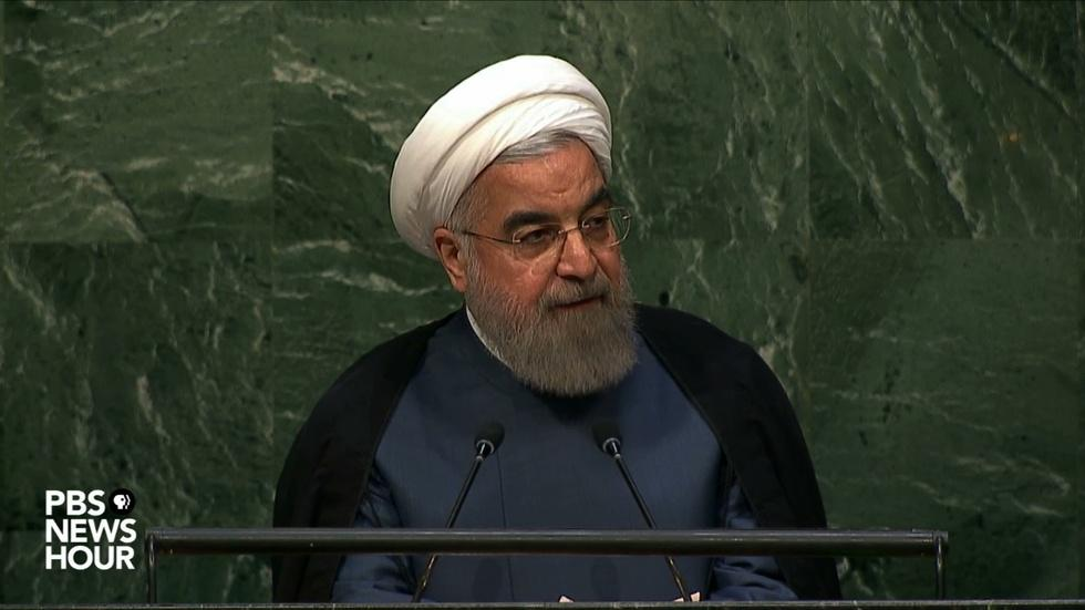 Watch Iranian President Rouhani's address to United Nations image
