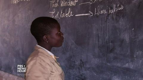 PBS NewsHour -- Striving for girls' education in the birthplace of Voodoo