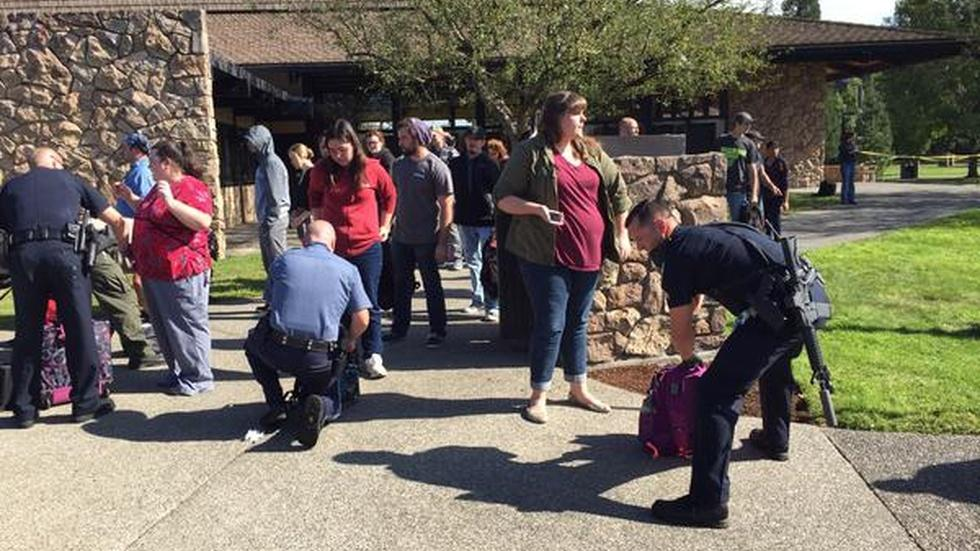Mass shooting shocks Oregon community college image