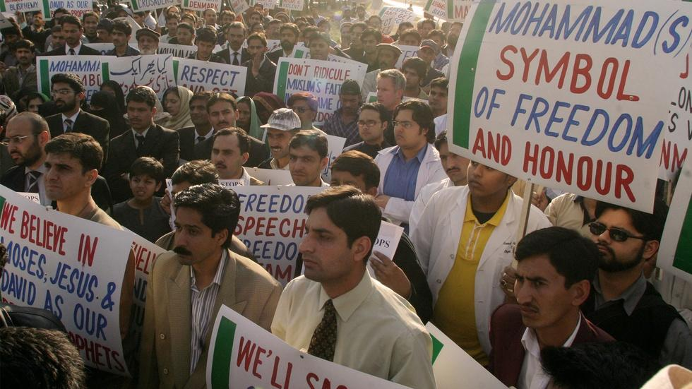 Why the Prophet Muhammad cartoon fury still haunts Europe image